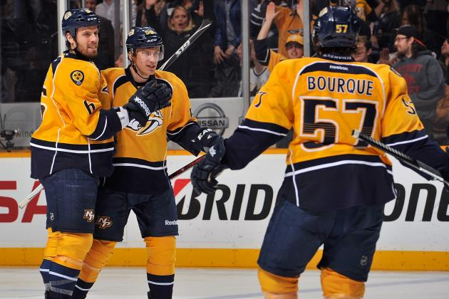 Josi Nets Winner 28 Seconds into OT to Lift Preds