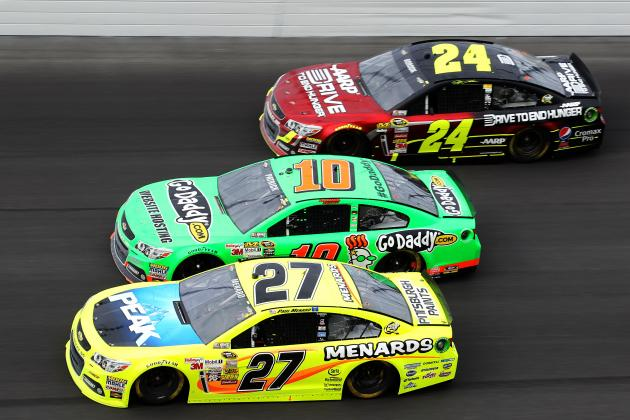 Danica Boosts Daytona's TV Ratings from 2012