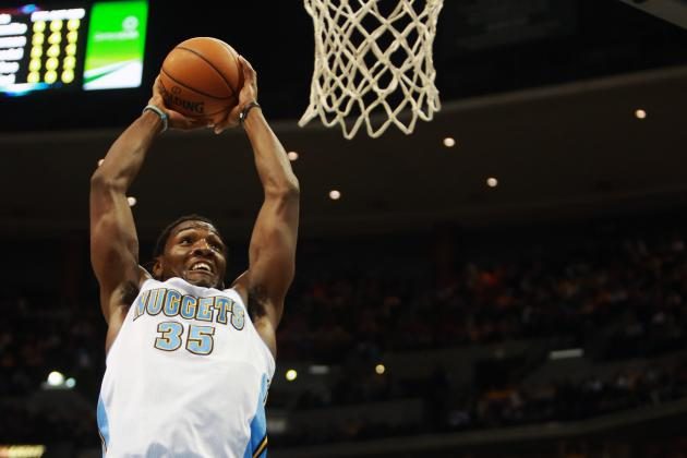 Denver Dunk Party Includes Faried over Howard (VIDEO)