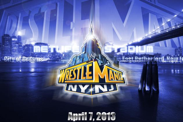 An Early Look at How the WrestleMania 29 Card Is Shaping Up