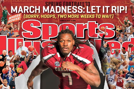 Jadeveon Clowney Featured on Sports Illustrated Cover