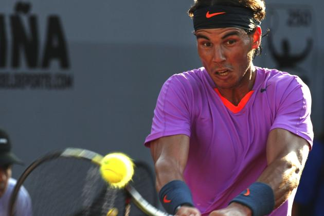 Rafael Nadal Reportedly Will Skip Hard-Court Events in March Due to Knee Concern