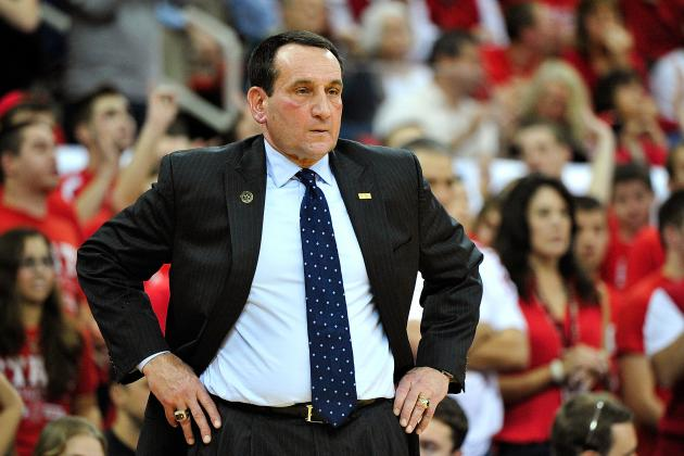 Krzyzewski Done with Team USA After 7 Years