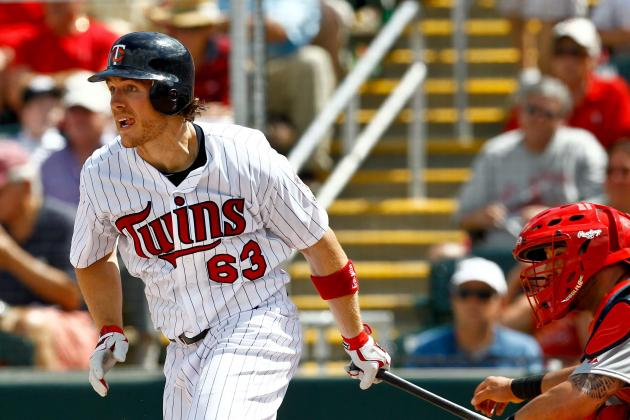 Joe Benson Regains the Pep in His Step in Twins Outfield