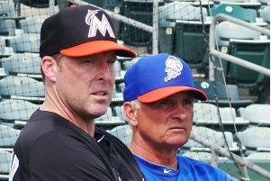 Marlins' Redmond: Mets Got Haul for Dickey