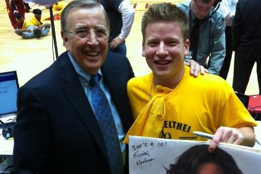 Brent Musburger Now Signing Katherine Webb Posters, She Remains a 10