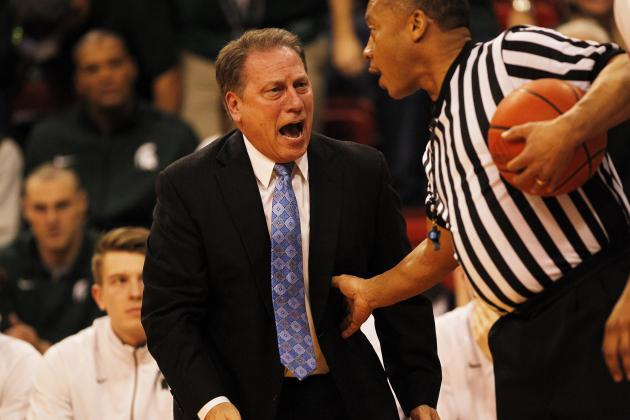 Michigan State's Tom Izzo Tells Fans It's OK to Be Upset, Just Don't Panic