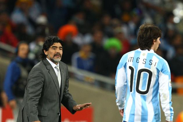 Lionel Messi Needs Epic Showing vs. Real Madrid to Silence Diego Maradona