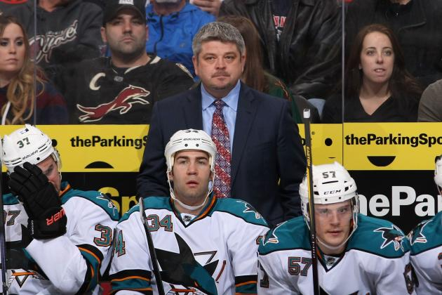 Sharks Coach McLellan Doesn't Think He's Lost the Room