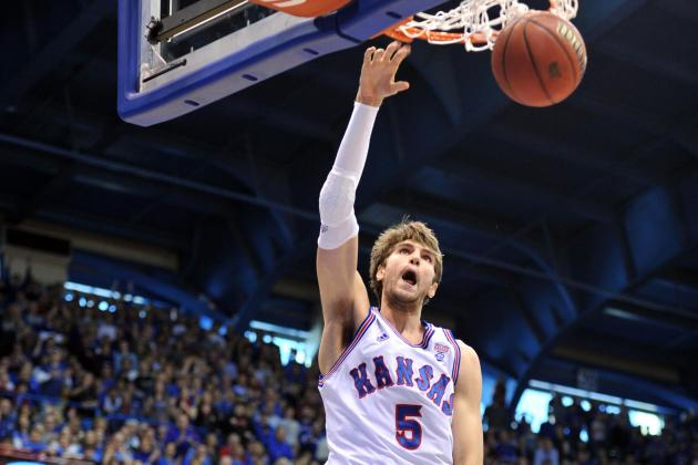Jeff Withey Wins Big 12 Player Award for Second Straight Week