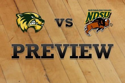 Utah Valley vs. North Dakota State: Full Game Preview