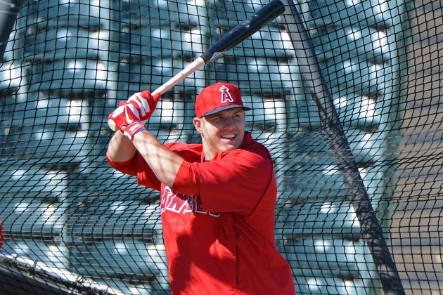 Angels' Trout, Cordero Happy with Spring Debuts