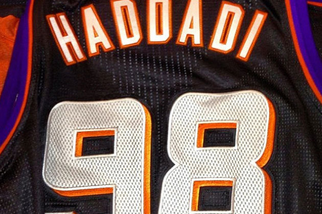 Haddadi's New Phoenix Suns Jersey Is Iran's International Telephone Code
