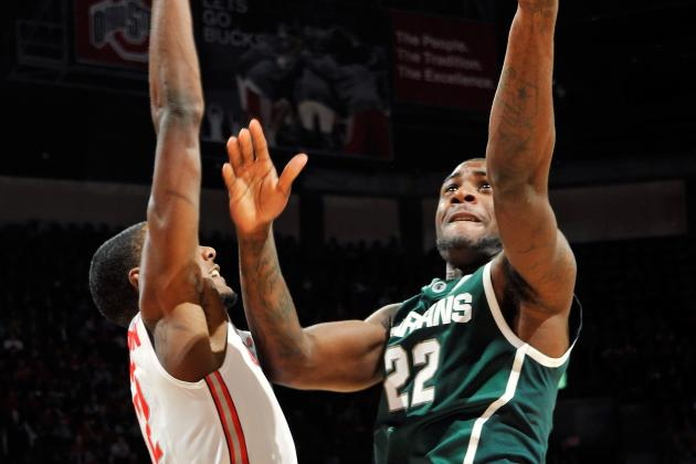 Michigan State's Tom Izzo Believes It's Good Branden Dawson