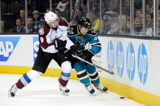 Sharks-Avalanche at a Glance