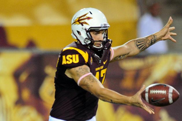 ASU's Hubner Kicks Nervousness at Combine