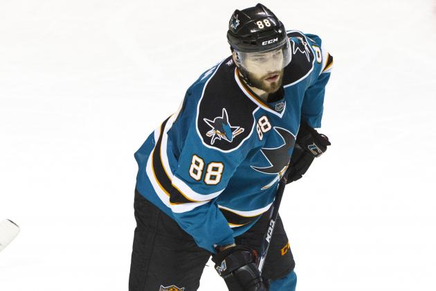 Sharks Place Burns on IR