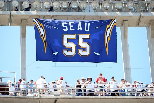Seau Remembered at Salute to Champions