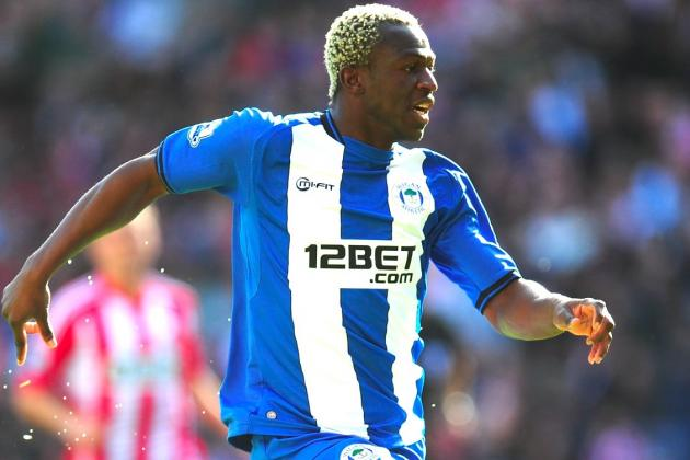 Scouting Arouna Kone: Ivory Coast Striker in the Goals for Wigan Athletic