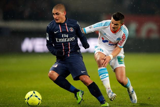 PSG Value Verratti at €30M