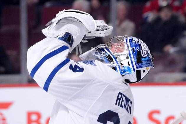 Maple Leafs Goalie James Reimer Edges Closer to Game Action