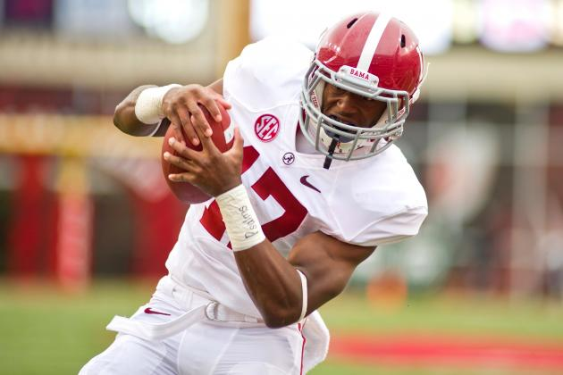 Alabama's Incredible Stable of Running Backs Signifies a Change in Philosophy