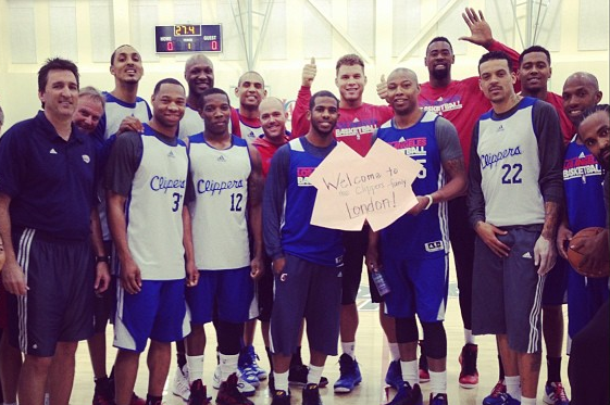 Instagram: Clippers Welcome Jamal Crawford's Newborn Baby