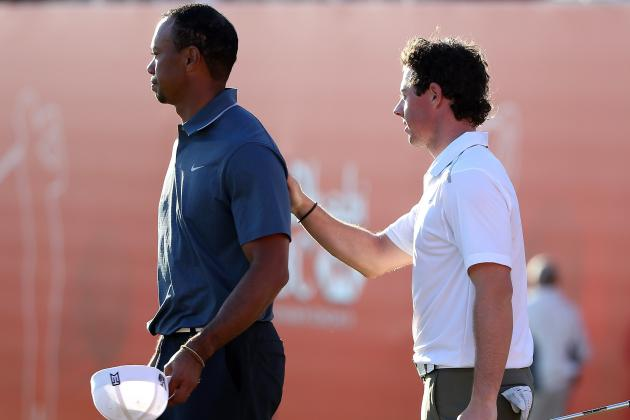 McIlroy, Woods Play Own Version of Match Play