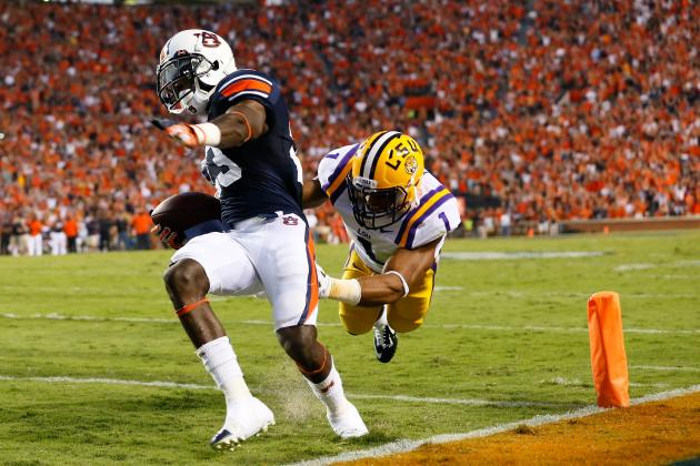 Auburn Football: Why LSU Will Be Tigers' Toughest Competition in 2013