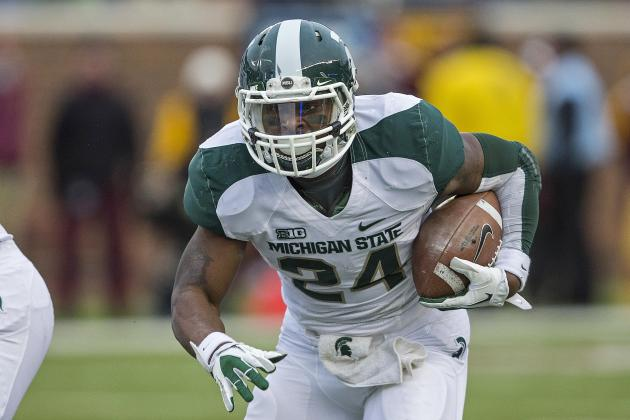 Todd McShay: Former Spartan Le'Veon Bell a Top 3 RB After Combine Performance