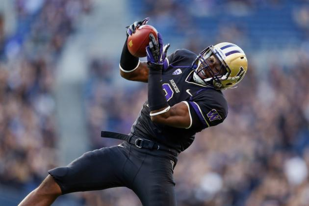 Huskies Will Sort Out Wide Receiver Depth During Spring Practice