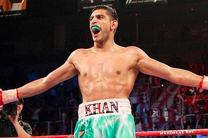 British Homecoming for Khan