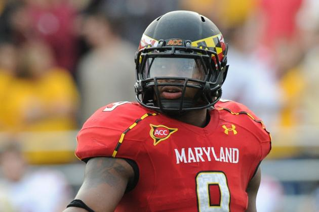 Former Terps LB Demetrius Hartsfield Preparing for Next Level After Tearing ACL