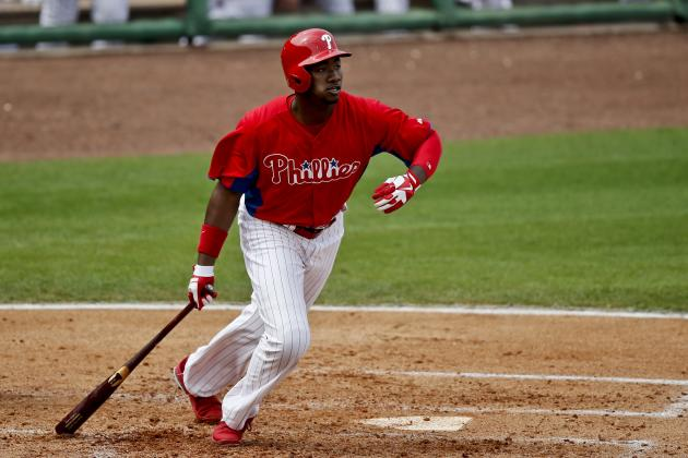 Domonic Brown's Fast Start Could Help Him Earn Starting Job with Phillies Soon