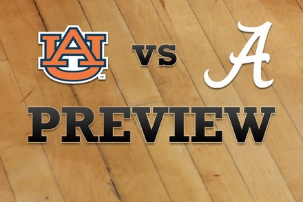 Auburn vs. Alabama: Full Game Preview