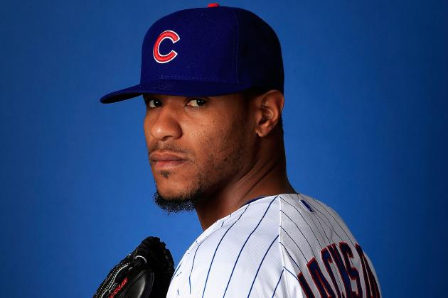 Edwin Jackson Throws Two Scoreless Innings in Cubs' Debut