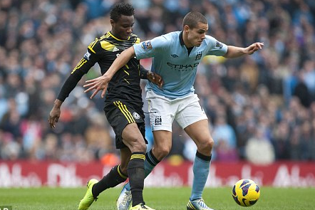 I Was Surprised Manchester City Bid for Me, Says Rodwell
