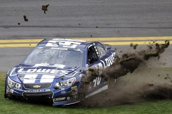 NASCAR: Jimmie Johnson Wrecked His Car During Daytona Celebration on Purpose?