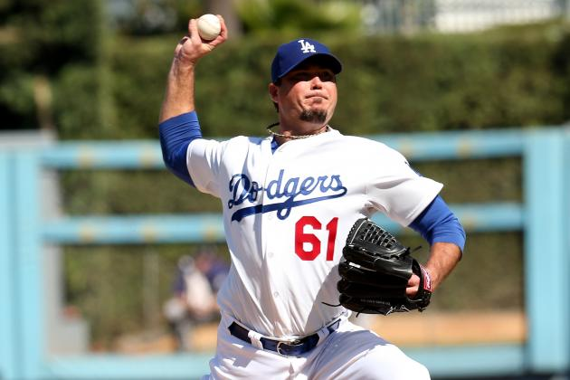 Josh Beckett, Dodgers' Overlooked Starter, Strong in First Outing
