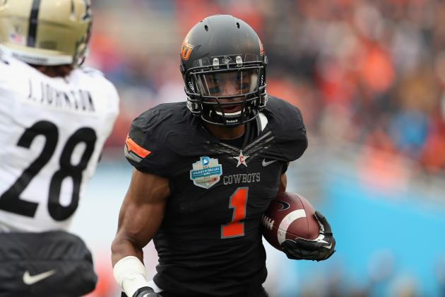 Oklahoma State Football: Complete NFL Combine Results for Former Cowboys