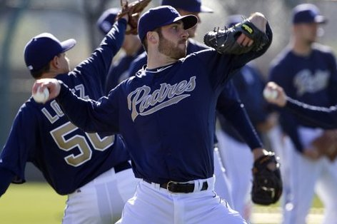 Buck, Bass Make Positive Impression on Padres