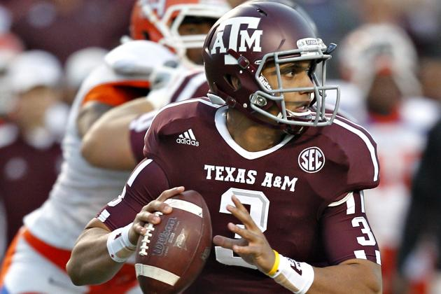 Report: Former Texas A&M QB Jameill Showers Transfers to UTEP