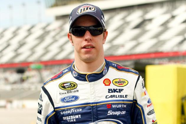 Outspoken Keselowski Fine with Being 'Bad Guy'