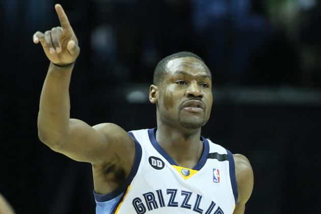 Ultracompetitive Tony Allen Likes to 'Bring out the Fire' in Fellow Grizzlies