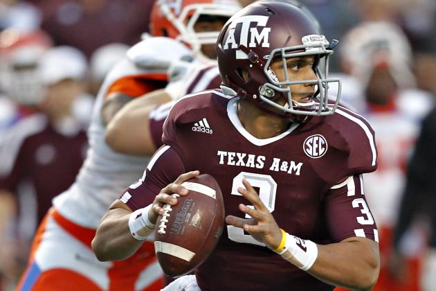 Former Texas A&M QB Jameill Showers Will Transfer to UTEP