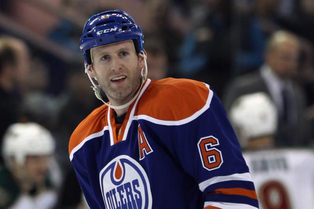 NHL Trade Rumors: 5 Teams That Could Use Oilers Ryan Whitney