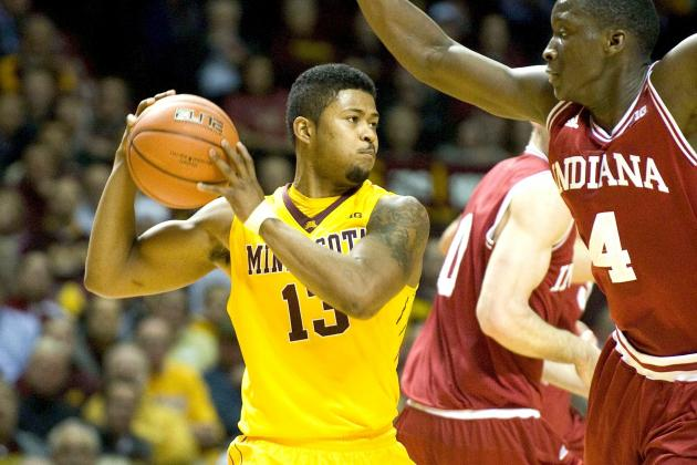 Minnesota Upsets No. 1 Indiana, 77-73