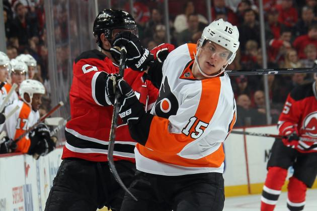Flyers' McGinn (broken Orbital Bone) out at Least Two Weeks