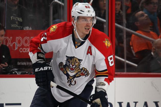 Kopecky's Hat Trick Lifts Panthers to 6-4 Win over Penguins