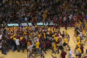 Video: Gopher Fans Storm Court After Upset of No. 1 Indiana
